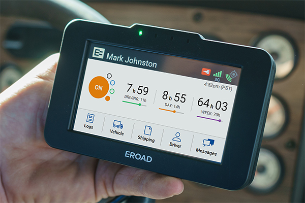 EROAD Advantage ELD 600x400